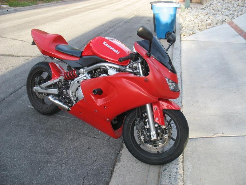SOLD* 2007 Ninja 650R *Price Lowered* $2,000