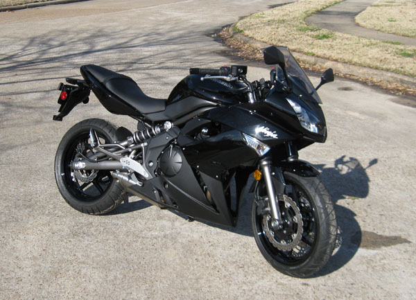 2009 Kawasaki Ninja 650R - 1300 miles