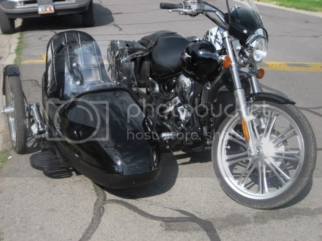 900 custom with sidecar | RiderForums com - Kawasaki